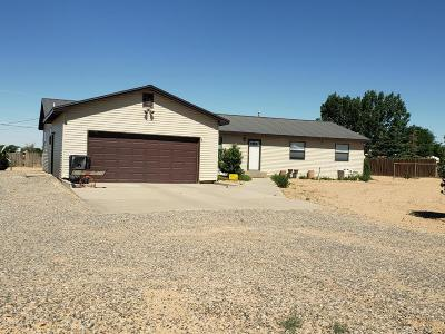 Single Family Home For Sale: 1 Road 6447