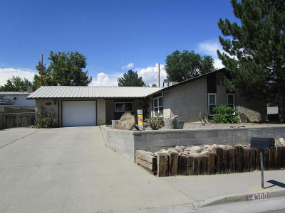 Single Family Home For Sale: 4300 Terrace Drive