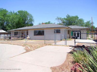 Farmington Single Family Home For Sale: 510 E Comanche Street