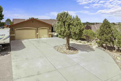 Single Family Home For Sale: 6416 N Red Rock Drive
