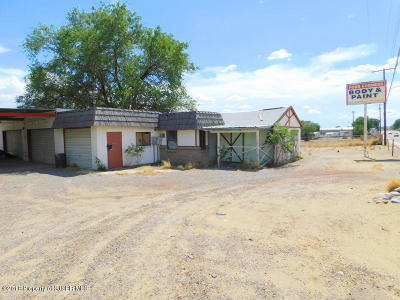 San Juan County Commercial For Sale: 1615 W Apache Street
