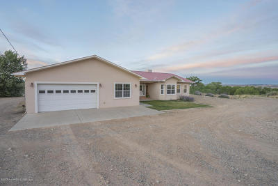 Single Family Home For Sale: 355a Road 1191