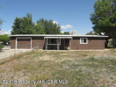 Aztec, Flora Vista Single Family Home For Sale: 507 Pinon Street