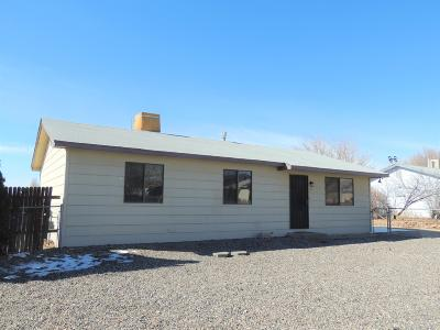 Single Family Home For Sale: 3 Road 6409