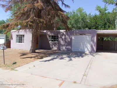 Farmington Single Family Home For Sale: 221 El Paso Drive
