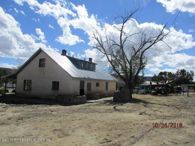 Navajo Dam Single Family Home For Sale: 1545 Nm 173