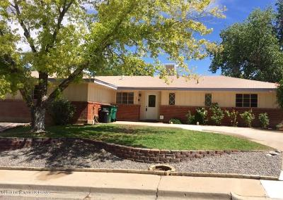 Farmington, Aztec, Bloomfield Single Family Home For Sale: 3800 N Sunset Avenue