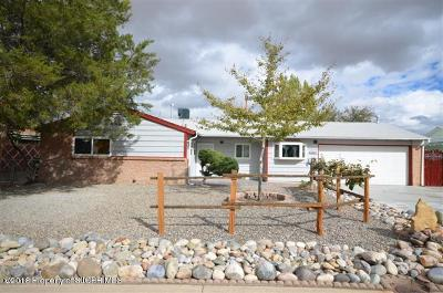 San Juan County Single Family Home For Sale: 4024 Terrace Drive