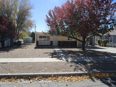 San Juan County Single Family Home For Sale: 401 E Mojave Street