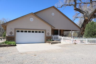 Aztec Single Family Home For Sale: 46 & 46a Road 3312