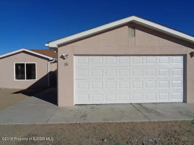 Aztec, Flora Vista Single Family Home For Sale: 16 Road 3074