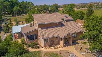 San Juan County Single Family Home For Sale: 70 Road 1115