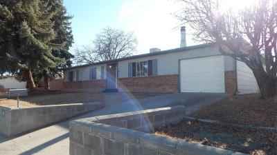 Single Family Home For Sale: 817 Apache Avenue