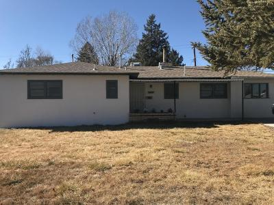Single Family Home For Sale: 333 Gila Road