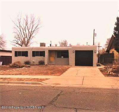 Farmington Single Family Home For Sale: 4913 Kayenta Drive