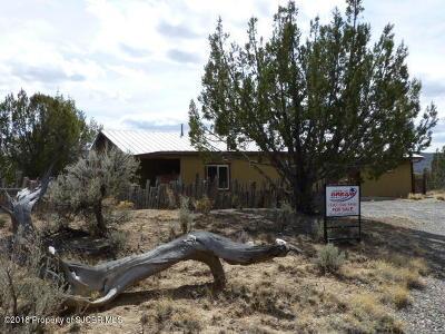 Navajo Dam Single Family Home For Sale: 1597 Nm 173