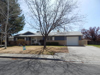 Single Family Home For Sale: 3504 N Sunset Avenue