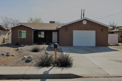 Single Family Home For Sale: 604 Taos Avenue