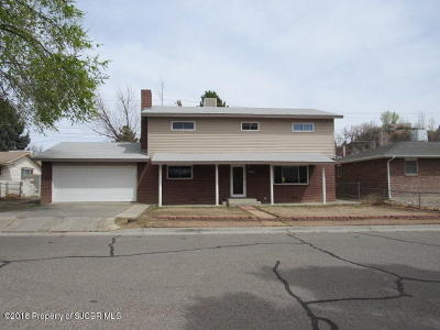 Single Family Home For Sale: 708 W Boyd Drive