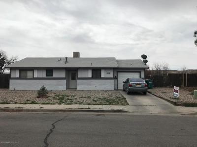 Farmington Single Family Home For Sale: 2713 La Puente Street