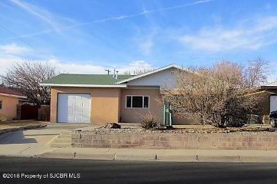 Farmington Single Family Home For Sale: 708 El Paso Drive