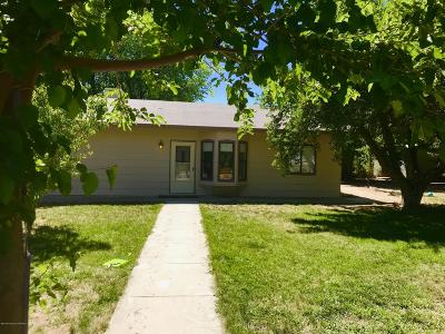 Single Family Home For Sale: 611 N Frontier Street