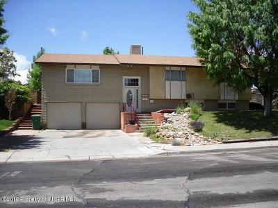 Farmington Single Family Home For Sale: 1601 Knudsen Avenue