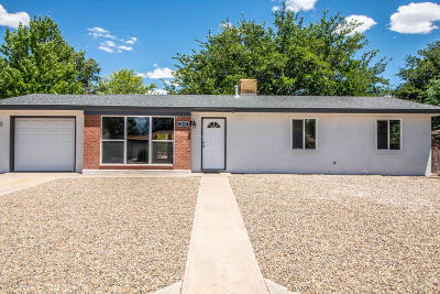 Single Family Home For Sale: 2600 N Mesa Drive