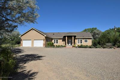 San Juan County Single Family Home For Sale: 3855 Us 64