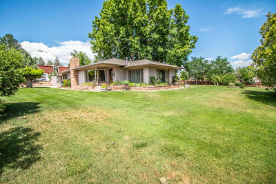 Single Family Home For Sale: 5416 Fairway Drive