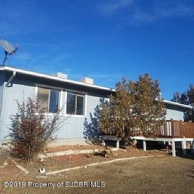 Single Family Home For Sale: 30 Road 5203