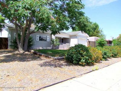 Single Family Home For Sale: 3805 Sierra Vista Drive