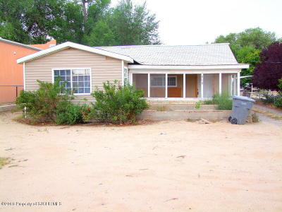 San Juan County Single Family Home For Sale: 212 N 1st Street