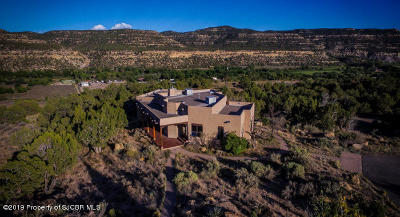 San Juan County Single Family Home For Sale: 28 Road 2090