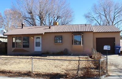 Single Family Home For Sale: 316 Gila Road