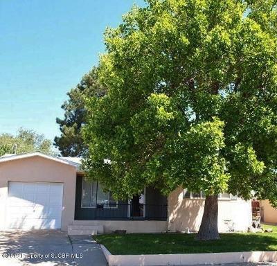 San Juan County Single Family Home For Sale: 900 E 22nd Street