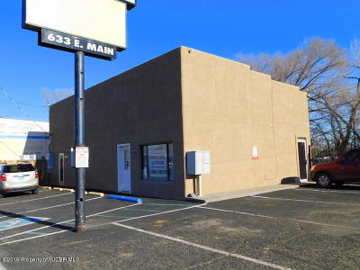 San Juan County Commercial For Sale: 633 E Main Street