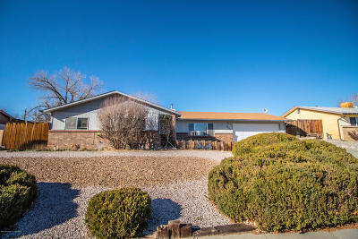 Farmington NM Single Family Home For Sale: $158,000
