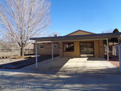 Aztec, Flora Vista Single Family Home For Sale: 602 Rio Pecos Road