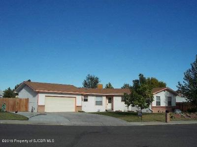 San Juan County Single Family Home For Sale: 2904 La Puente Street