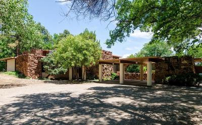 Los Ranchos Single Family Home For Sale: 7200 Rio Grande Boulevard NW