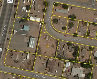 Bernalillo County Residential Lots & Land For Sale: 400 Arbor Place NE