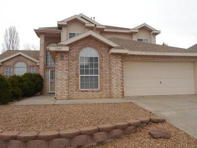 Valencia County Single Family Home For Sale: 1307 Montara Drive NW