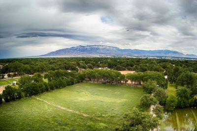 Albuquerque Residential Lots & Land For Sale: 8717 Rio Grande Boulevard NW