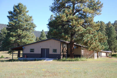Catron County Single Family Home For Sale: 13 Casi Cielo Lane