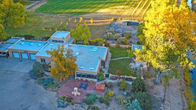 Valencia County Single Family Home For Sale: 2020 Los Lentes Road