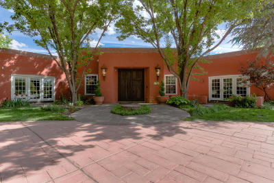 Los Ranchos Single Family Home For Sale: 5415 Eakes Road