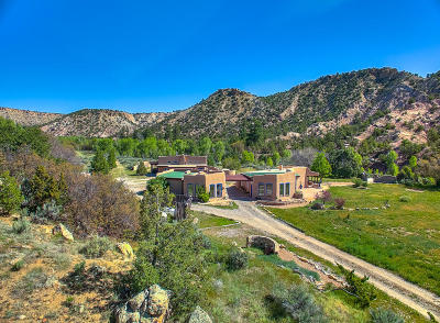 Abiquiu Single Family Home For Sale: 23196 Highway 84