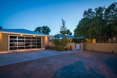 Albuquerque Single Family Home For Sale: 3025 Rio Grande Boulevard NW
