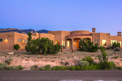 Placitas Single Family Home For Sale: 72 Anasazi Trails Road